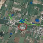 San Pancrazio P.se - area ex-kartodromo. Estratto del Sistema Informativo Archeologico del Comune di Parma