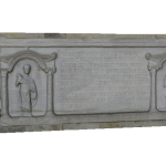 Lastra tombale di Biagio Pelacani
